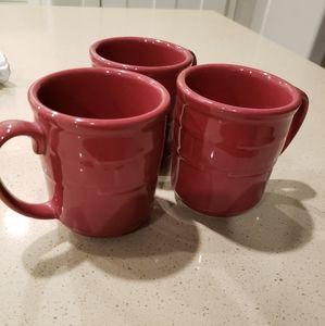 Just in! Longaberger paprika mugs